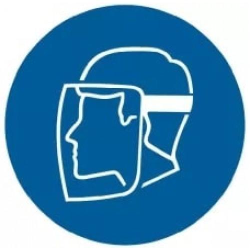Znak - Nakaz stosowania ochrony twarzy GJ008