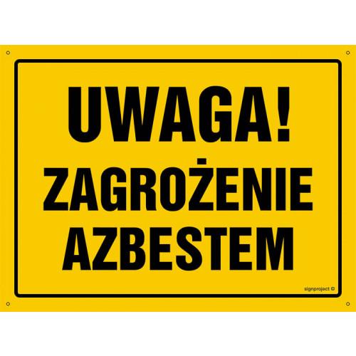Uwaga! Zagrożenie azbestem