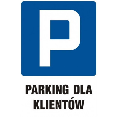 Parking tylkio dla klientów