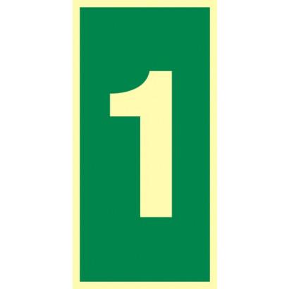 Numer stacji ewakuacyjnych nr 1