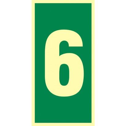 Numer stacji ewakuacyjnych nr 6