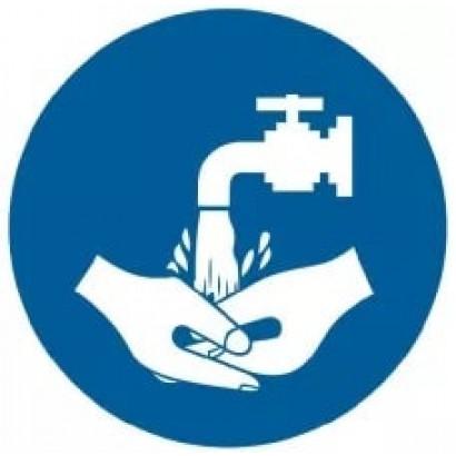 Nakaz mycia rąk