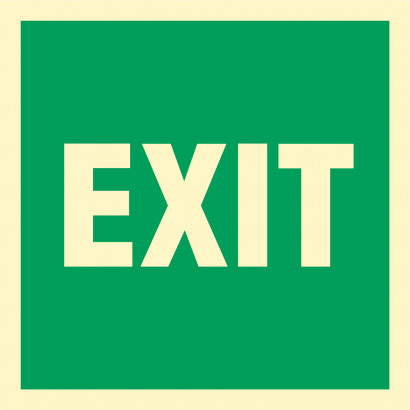 Znak - EXIT AC067