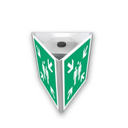 Miejsce zbiórki do ewakuacji (3D do słupka)