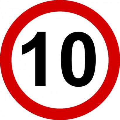 Ograniczenie prędkości 10