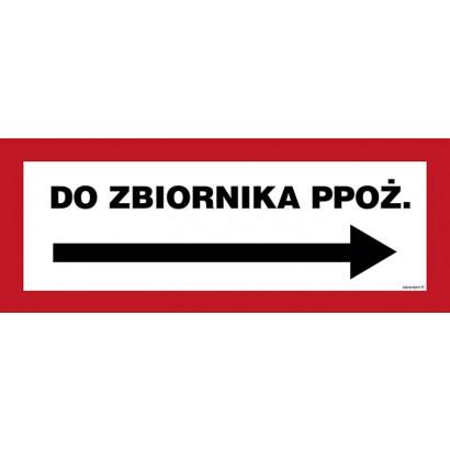 Do zbiornika ppoż. w prawo