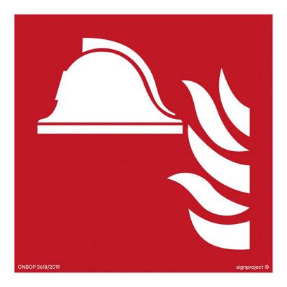 Zestaw sprzętu przeciwpożarowego