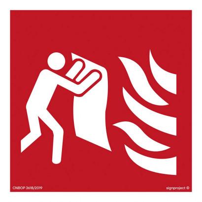 Koc przeciwpożarowy