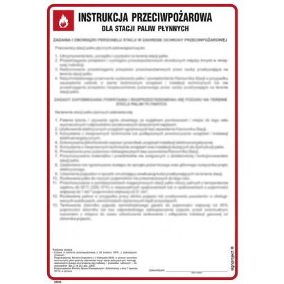 Instrukcja przeciwpożarowa dla stacji paliw płynnych