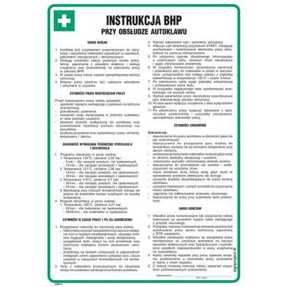 Instrukcja BHP przy obsłudze autoklawu