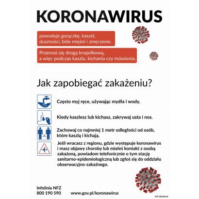 Instrukcja zapobiegania zakażenia koronawirusem SARS-CoV-2