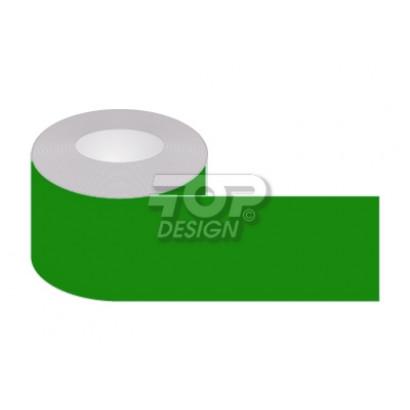 Taśma samoprzylepna zielona, podłogowa