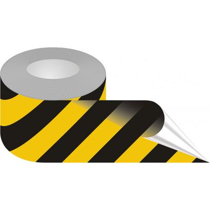 Taśma samoprzylepna żółto-czarna podłogowa