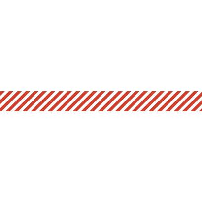 Pas ostrzegawczy fotoluminescencyjno-czerwony