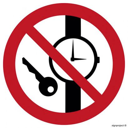 Zakaz posiadania przedmiotów metalowych