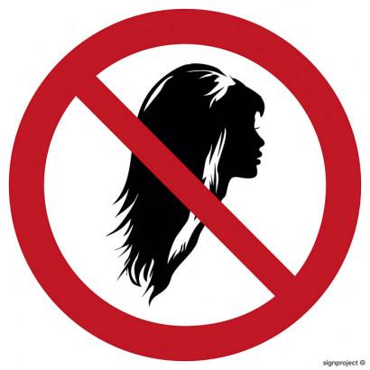Zakaz noszenia rozpuszczonych włosów