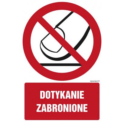 Dotykanie zabronione