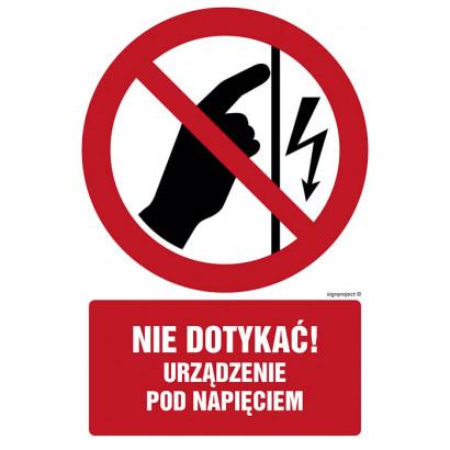 Zakaz wchodzenia z wózkami