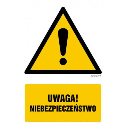 Uwaga niebezpieczeństwo