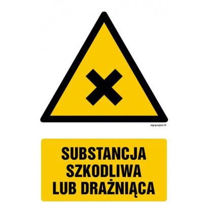 Substancja szkodliwa lub drażniąca