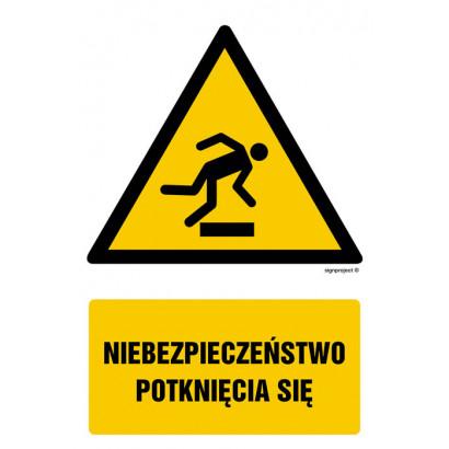 Niebezpieczeństwo potknięcia się