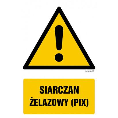 Siarczan żelazowy (PIX)