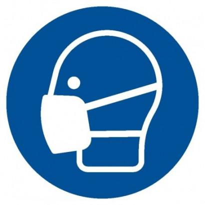 Nakaz stosowania maski przeciwpyłowej