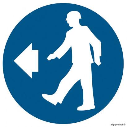 Nakaz stosowania ochrony głowy i twarzy