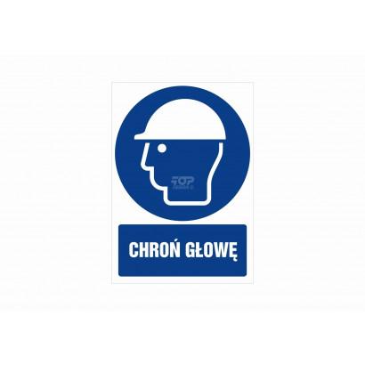 Znak - Chroń głowę GL004