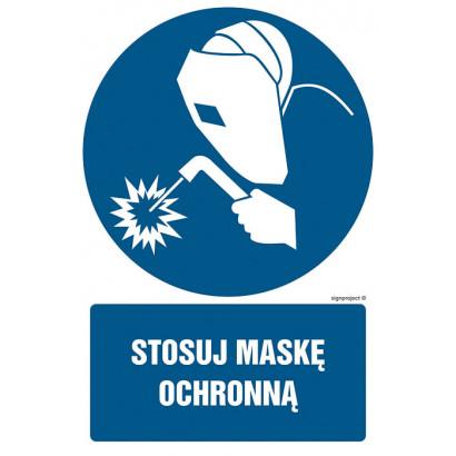 Stosuj maskę ochronną