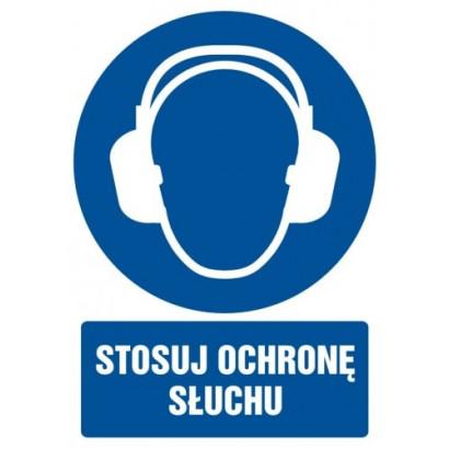 Stosuj ochronę słuchu