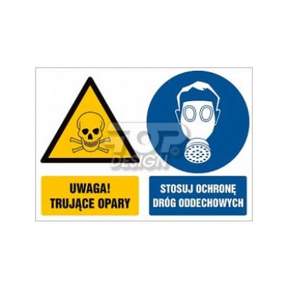 Uwaga trujące opary Stosuj ochronę dróg oddechowych