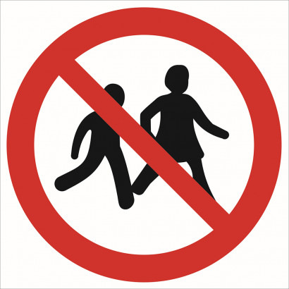 Zakaz wstępu dzieciom