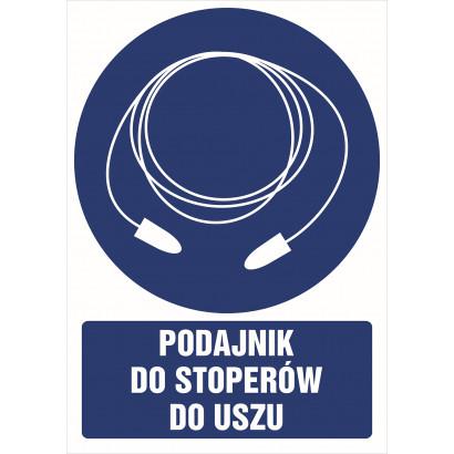 Znak - Podajnik do stoperów do uszu GT032