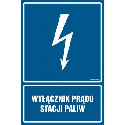 Wyłącznik prądu stacji paliw