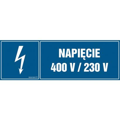 Napięcie 400V/230V