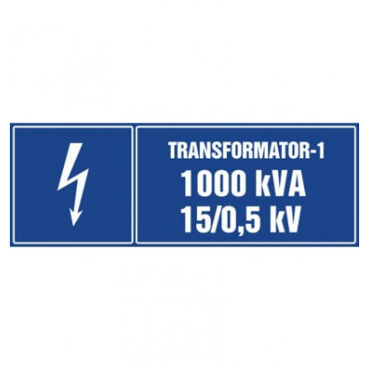 Transformator-1 1000kVA 15/0.5 kV