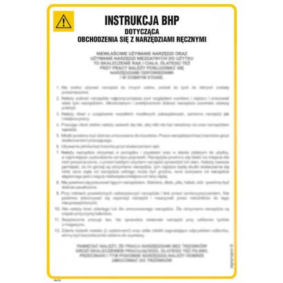 Instrukcja BHP przy obsłudze niszczarki dokumentów