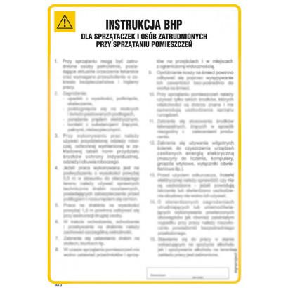 Ogólna instrukcja BHP dla pomieszczeń administracyjno-biurowych