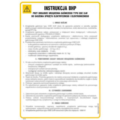 Instrukcja ogólna BHP w czasie zajęć wychowania fizycznego
