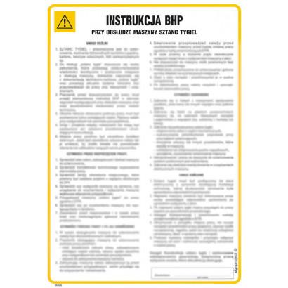 Instrukcja BHP przy obsłudze gaśnicy śniegowej z zaworem szybkootwieralnym