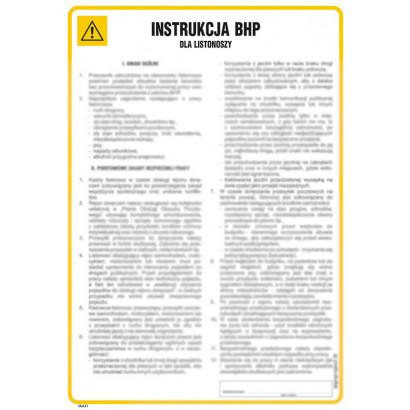 Instrukcja BHP przy obsłudze maszyny sztanc tygiel