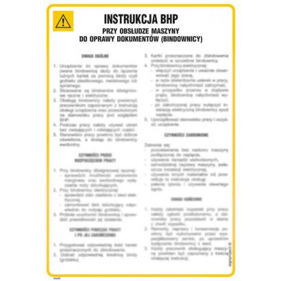 Ogólna instrukcja w przypadku napadu rabunkowego