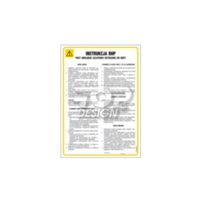 Instrukcja BHP dla osób zatrudnionych na składach odbioru buraków cukrowych