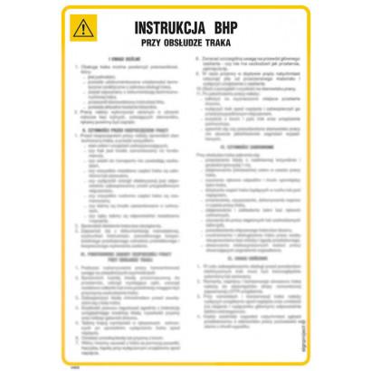 Instrukcja BHP przy obsłudze zgrzewarki punktowej i liniowej
