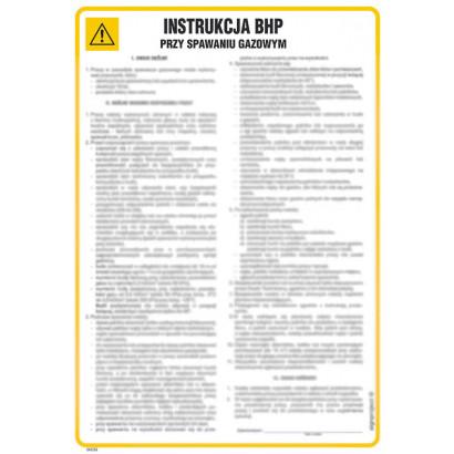 Instrukcja BHP przy cięciu (paleniu) gazowym ręcznym