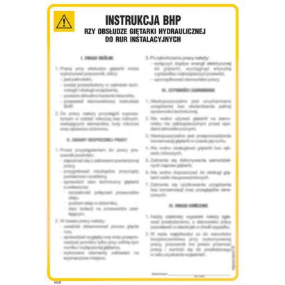 Instrukcja BHP przy cięciu plazmowym