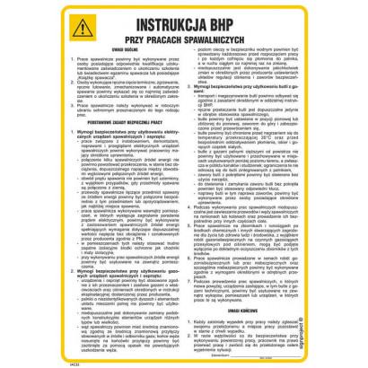 Instrukcja BHP obsługi zgrzewarki punktowej do metali
