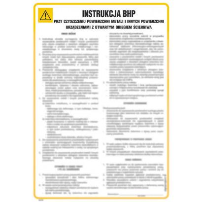 Instrukcja BHP przy obsłudze szlifierki do metali