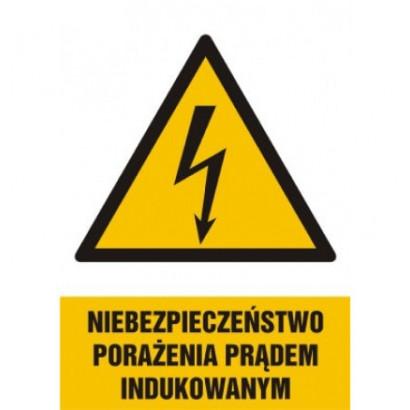 Niebezpieczeństwo porażenia prądem indukowanym